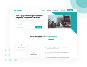 High Conversion Landing Page Design