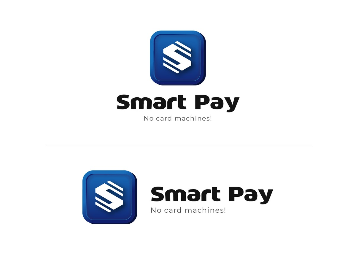 Smart Pay Logo and Mobile App Icon