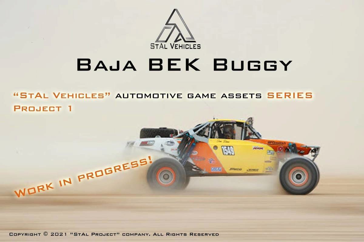 """""""Automotive Game Assets"""" Series for commercial using on e-stores- Work In Progress!!"""