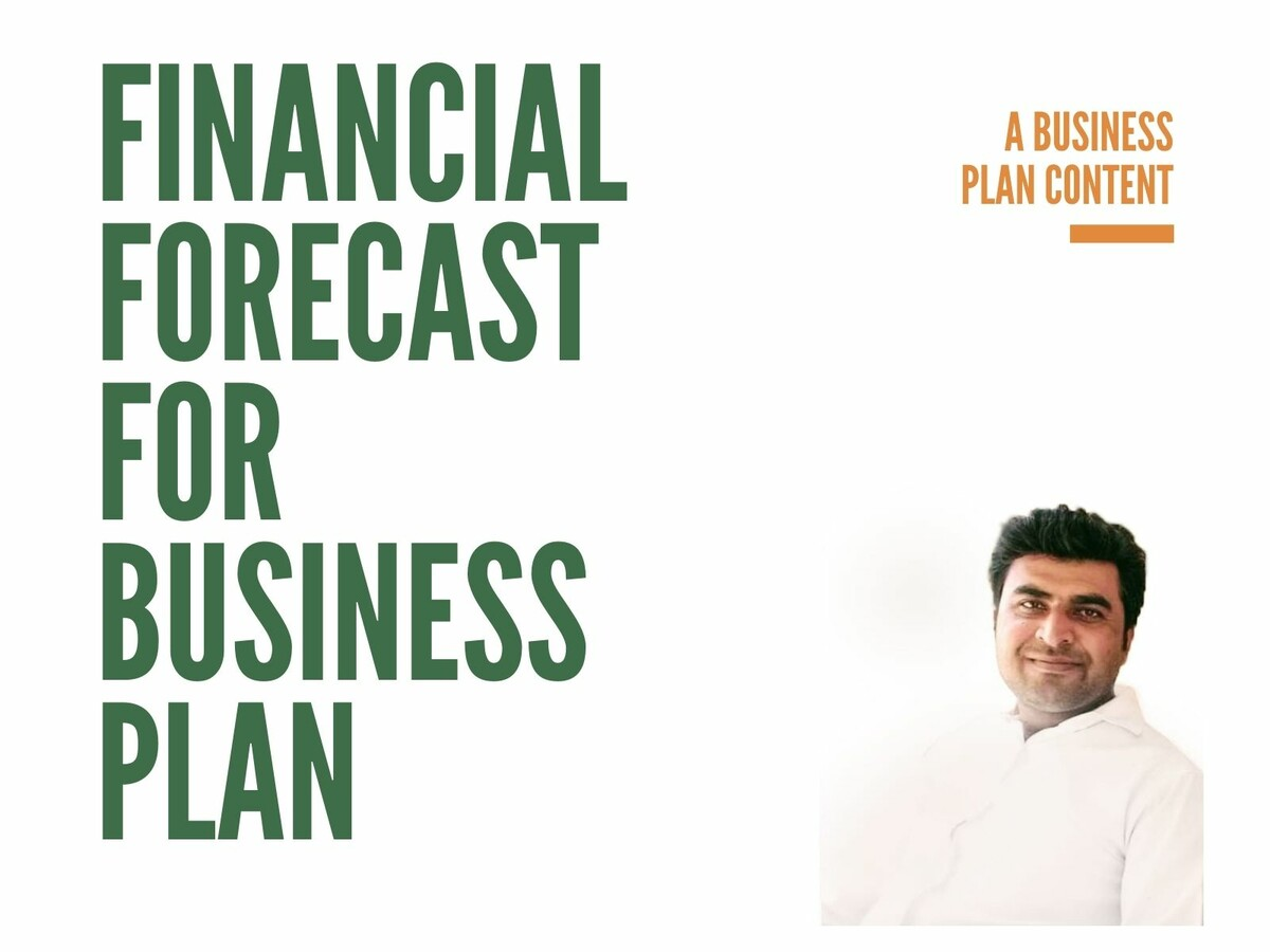Financial forecast for business plan