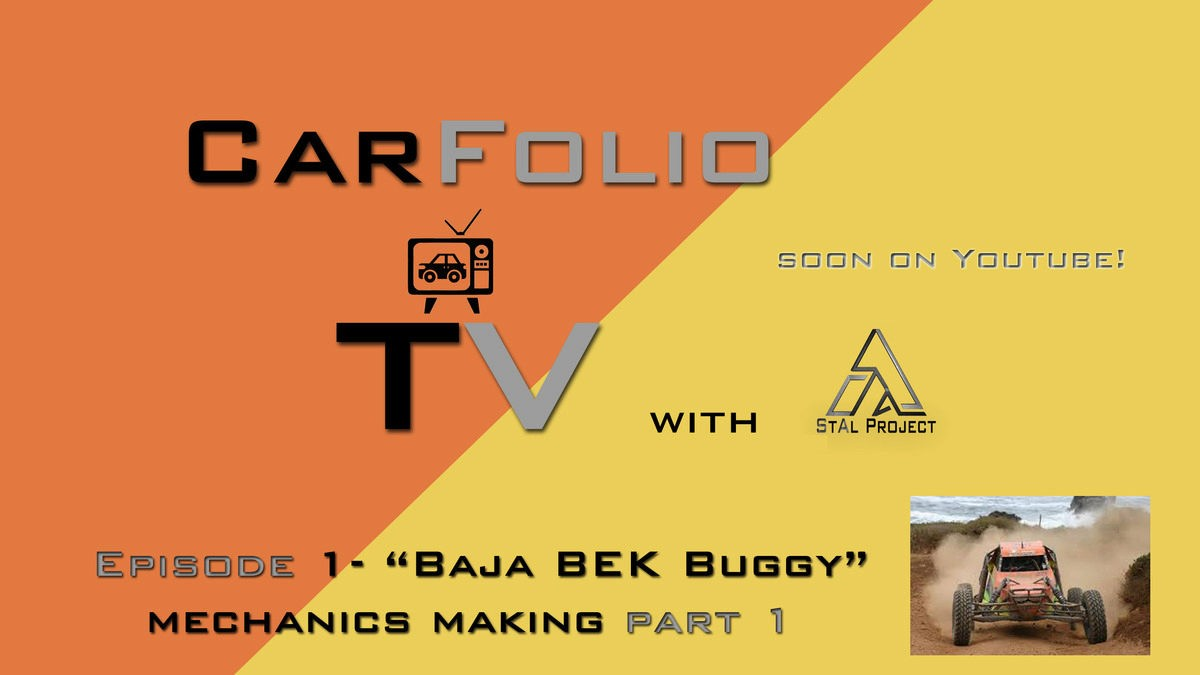 """CarFolio TV Project soon on YouTube - Automotive design, 3D Automotive Computer Graphics Art, 3D Racing Video Game Development with """"StAl Project"""" company"""